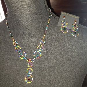 😍NWT😍Sue B's Designs necklace and earrings